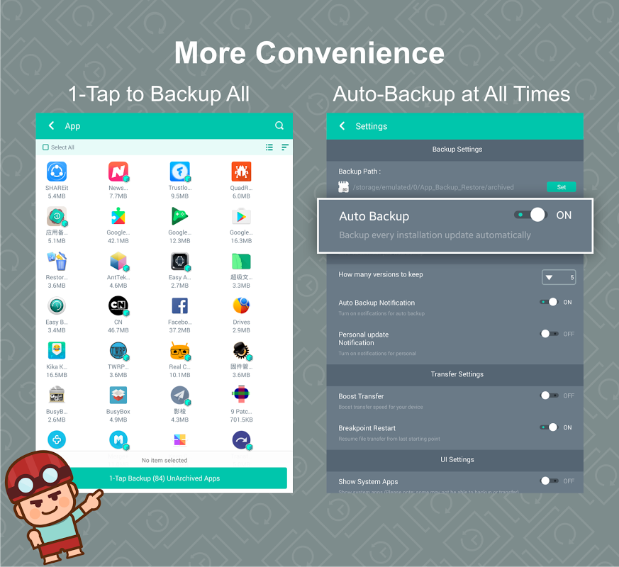 App Backup & Restore 2 1 0 Download APK for Android - Aptoide