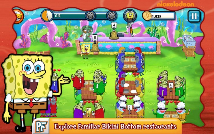 Spongebob diner dash 2 pc game download | gamefools.