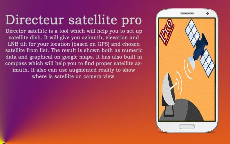 satellite director finder pro 1 2 Download APK for Android