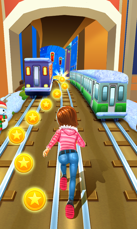 Subway Princess Runner screenshot 1