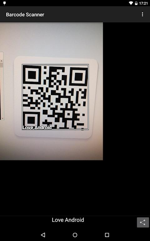 Barcode Scanner screenshot 1