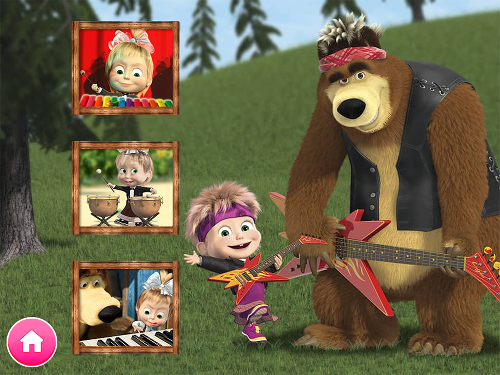Masha and the Bear. Educational Games screenshot 2
