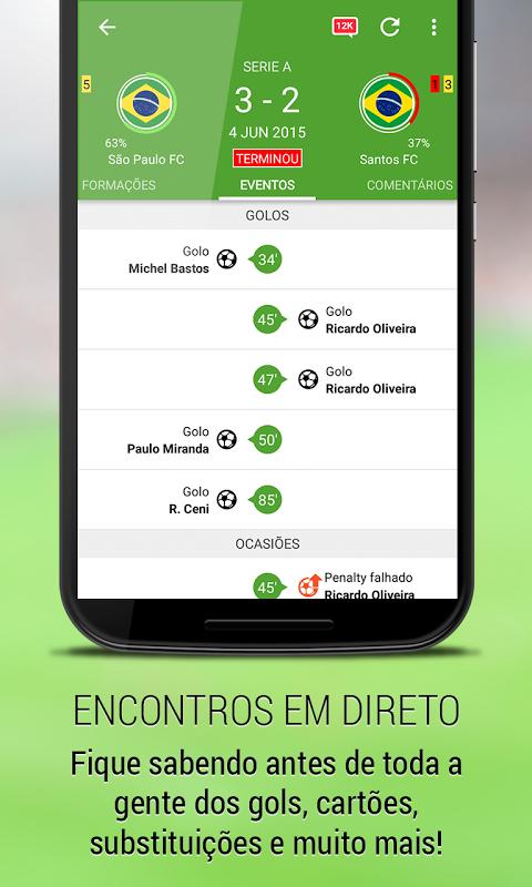 BeSoccer - Resultados futebol screenshot 2