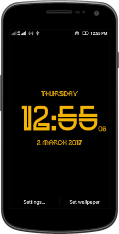 Neon digital clock free 1 3 Download APK for Android - Aptoide