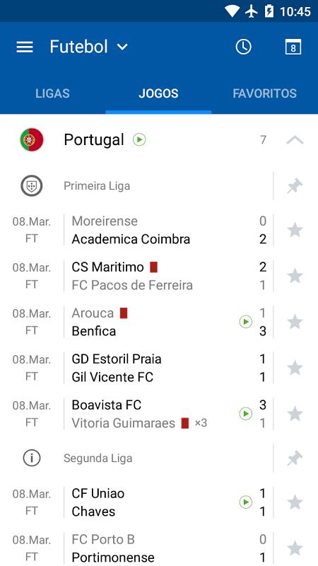 SofaScore Resultados ao Vivo screenshot 2