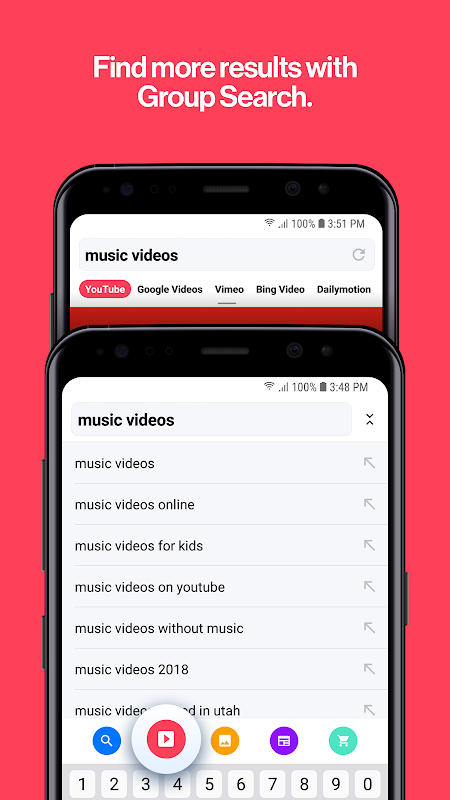 Cake Web Browser—Fast, Private, Ad blocker, Swipe screenshot 2