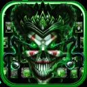 Joker Skull Keyboard Theme