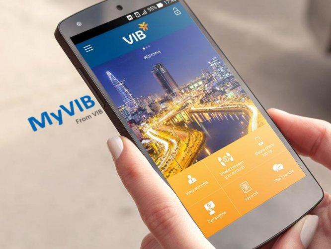 MyVIB screenshot 1