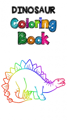 Dinosaur Coloring Book Screenshot 1
