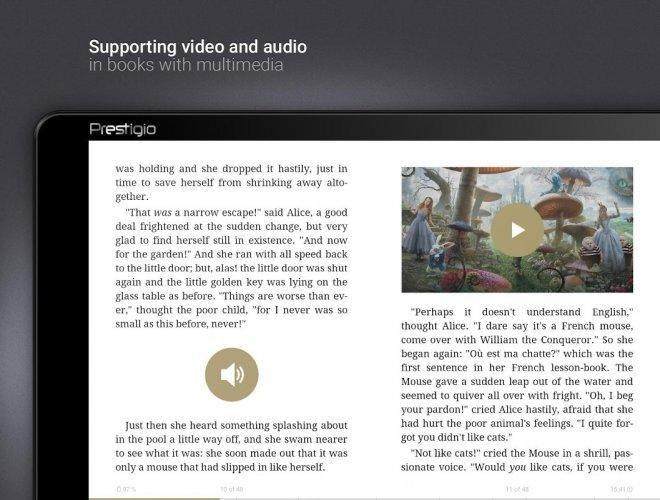 eReader Prestigio: Book Reader screenshot 1