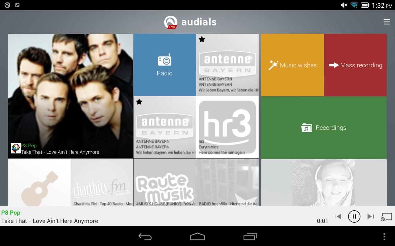 Audials Radio Pro screenshot 2