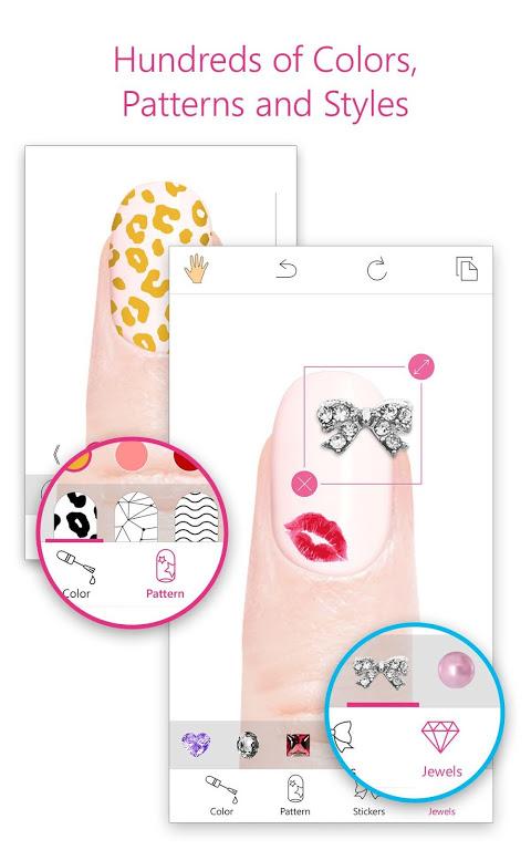 YouCam Nails - Manicure Salon for Custom Nail Art screenshot 1