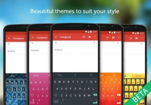 SwiftKey Beta Screenshot
