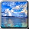 Skies over water
