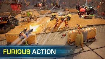 Evolution 2: Battle for Utopia. Shooting game Screen