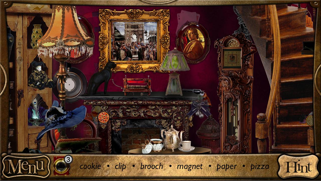 Hidden Objects - Detective Sherlock Holmes Game screenshot 2