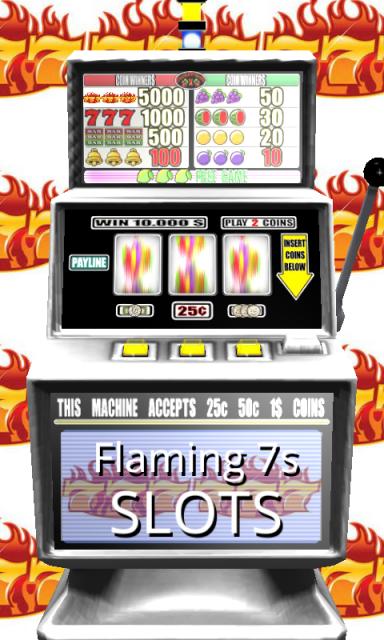 Flaming 7S Slots Free