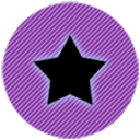 Black Star Icon Pack