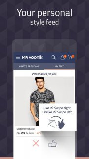 Mr Voonik - Online Shopping App screenshot 2