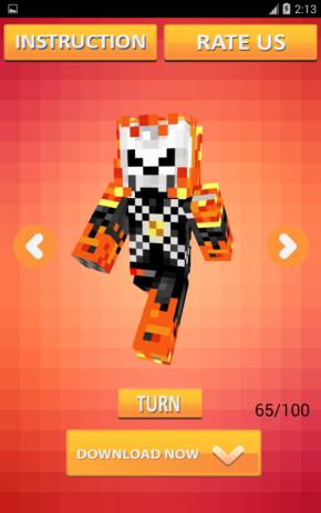 Mob Skins For Minecraft PE Descargar APK Para Android Aptoide - Skins para minecraft pe descargar