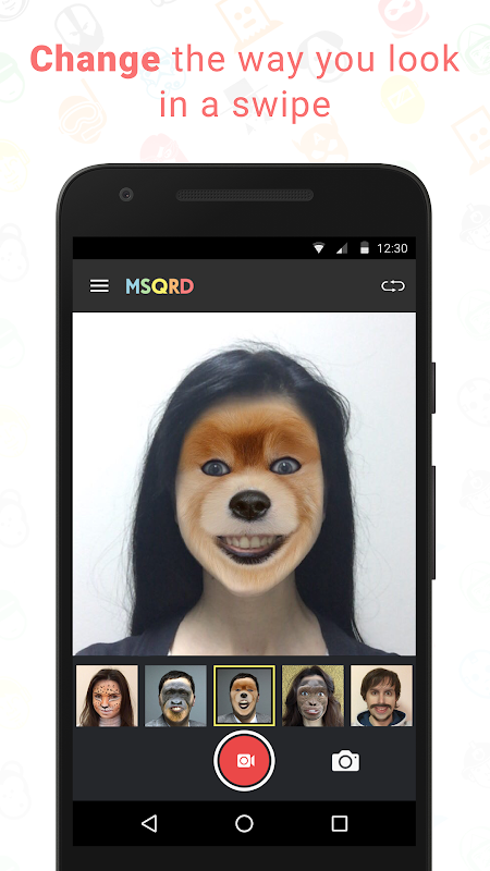 MSQRD screenshot 1