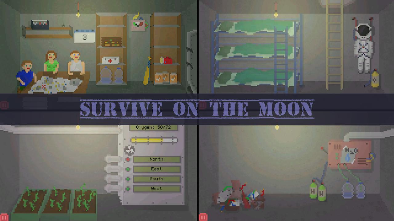 Alive In Shelter: Moon screenshot 1