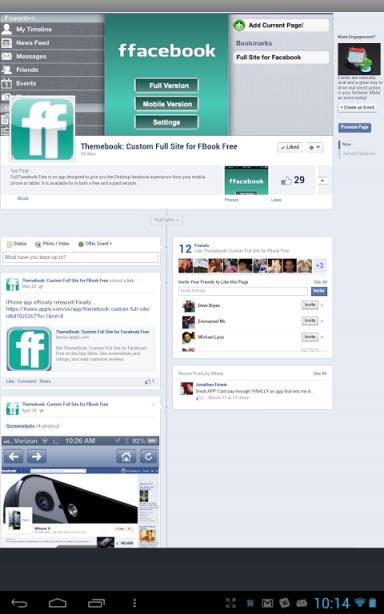 facebook full website login not mobile