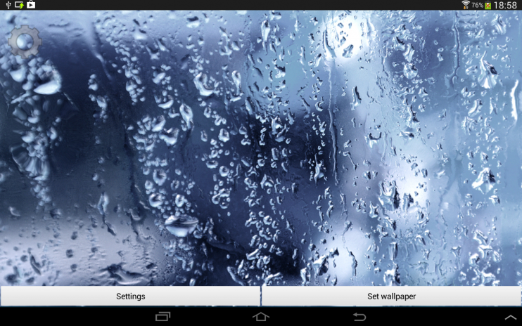 Rain live wallpaper with sounds elegant live wallpapers and.
