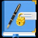 Secret Diary mit Lock und Backup