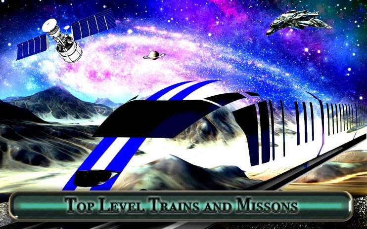 Galaxy space train simulation:bullet train 1 0 Download APK