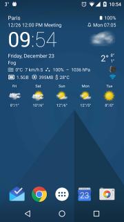 Transparent clock weather Pro screenshot 25