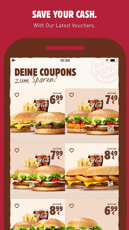 The description of Burger King® - Mobile Vouchers & Fast Food Deals
