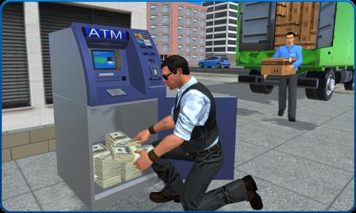 Bank Cash-in-transit Security Van Simulator 2018 screenshot 1