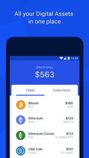 Coinbase Wallet — Crypto Wallet & DApp Browser screenshot 3