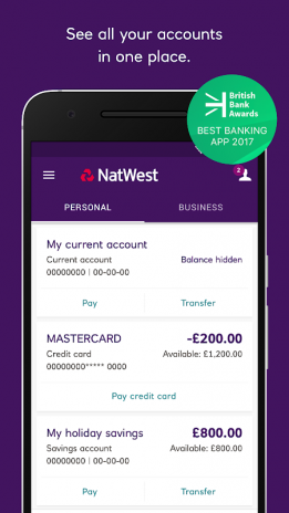 Natwest mobile banking 05090000430 download apk for android natwest mobile banking screenshot 1 reheart Gallery