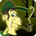 Sherlock Holmes Caça objetos ocultos Detetive jogo