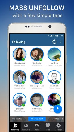 Cleaner for instagram unfollow block and delete 30 descarregar o cleaner for instagram unfollow block and delete screenshot 1 ccuart Image collections
