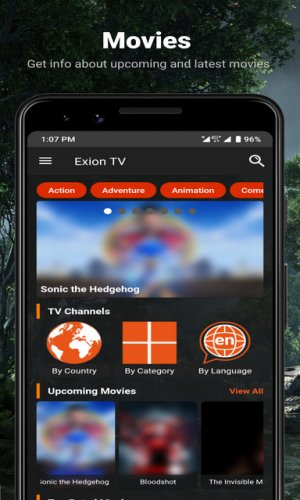 Exion Tv Watch Live Iptv Channels With Movies 1 8 Download Android Apk Aptoide