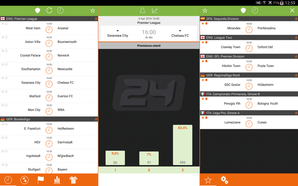 futbol24 live scores mobile