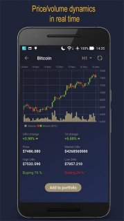 CoiNsider. Bitcoin /Altcoin Analysis Portfolio App screenshot 4