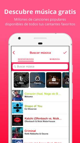 Lomotif - Edita música y vídeo screenshot 2
