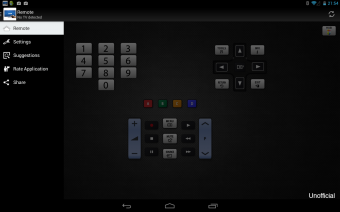 Remote for Samsung TV Screenshot