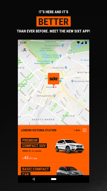 Sixt - Rent a Car screenshot 2
