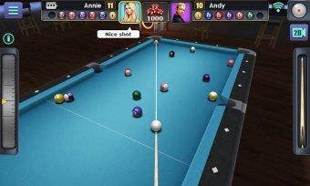 3D Pool Ball Screenshot