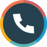 contacts phone dialer drupe icon
