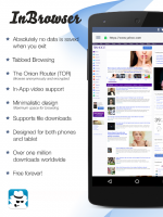 InBrowser - Incognito Browsing Screen