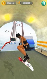 Hoverboard Surfers 3D screenshot 5