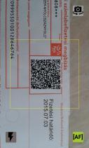 iCsekk mobil fizetés Screenshot