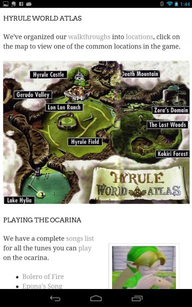 how to play ocarina of time on ocarina app