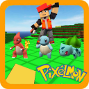 Perfect Pixelmon world for craft & build : 3D PE